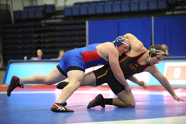 College Sports - Wrestling at American Univ. vs. Navy