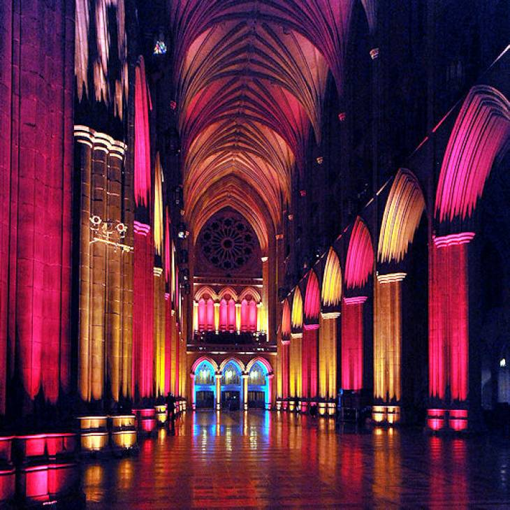 Nighttime Lighting At Washington National Cathedral - A Special Access Photo Safari