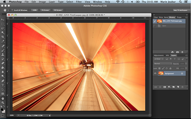 2014, October 25: NEW & IMPROVED Introduction to Photoshop