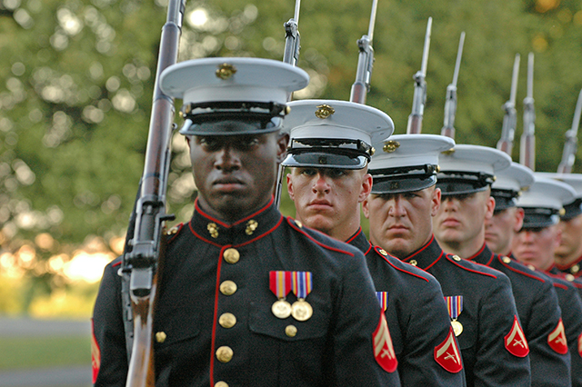 2016, July 26: Marine Corps Silent Drill Team Photo Safari!