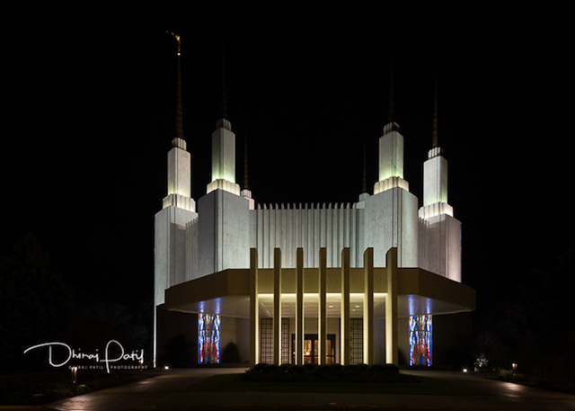 Garden of Lights at the Mormon Temple-Dhiraj Patil