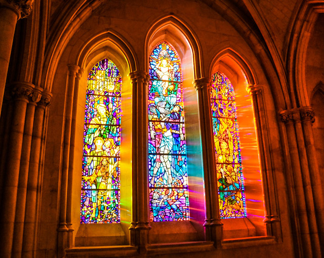 Early Morning Light at Washington National Cathedral-Paul Laurenza