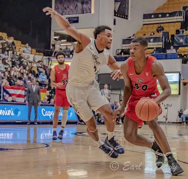 College Sports: GW Men's Basketball v. Duquesne-Earl Davy