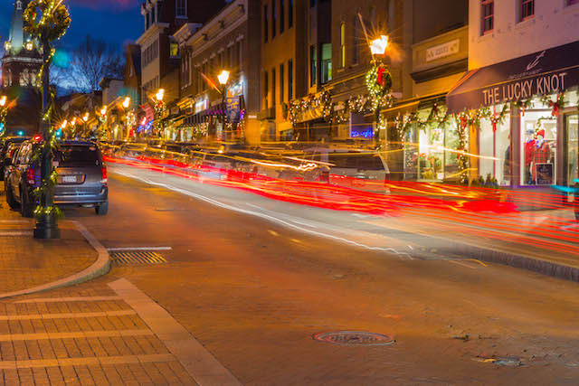Holiday Time in Historic Annapolis-Victor Bosier