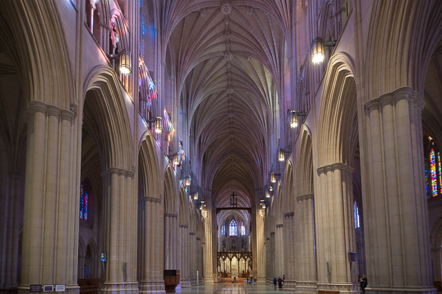 Early Morning Light at Washington National Cathedral-Mark Roth