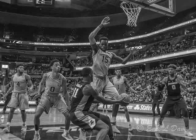 Sports Photography - Hoyas Basketball vs Providence-Earl Davy
