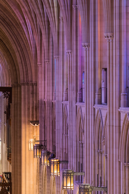 Early Morning Light at Washington National Cathedral-Jennifer Seiler