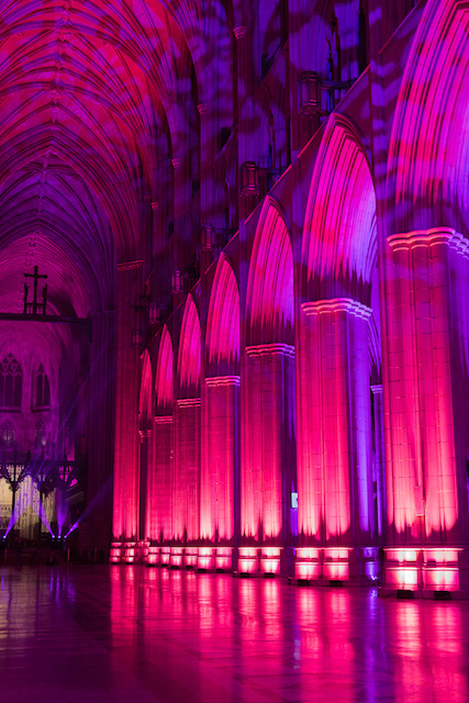 Nighttime Lighting at Washington National Cathedral-Jennifer Seiler