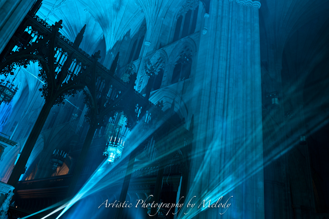 Nighttime Lighting at Washington National Cathedral-T. Melody Carder