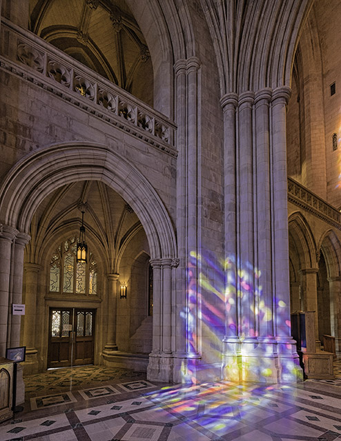 Early Morning Light at Washington National Cathedral-Tom Fretz