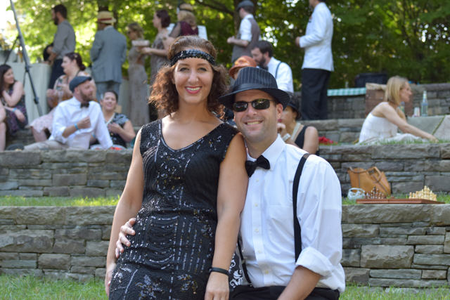 Photographic Storytelling featuring a 1920s Lawn Party-HP Park