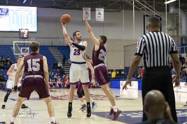 Men's Basketball at American University-Lance Polcyn