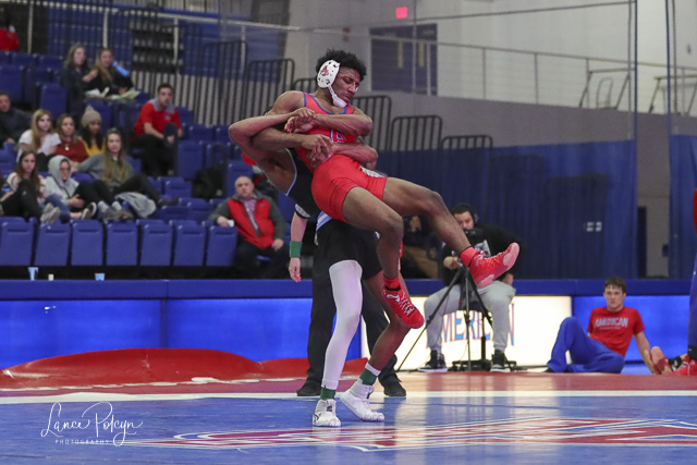 Wrestling at American University-Lance Polcyn