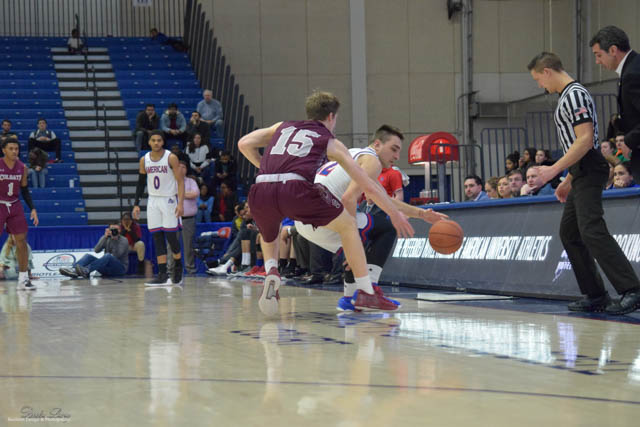 Men's Basketball at American University-Reneka Watkins