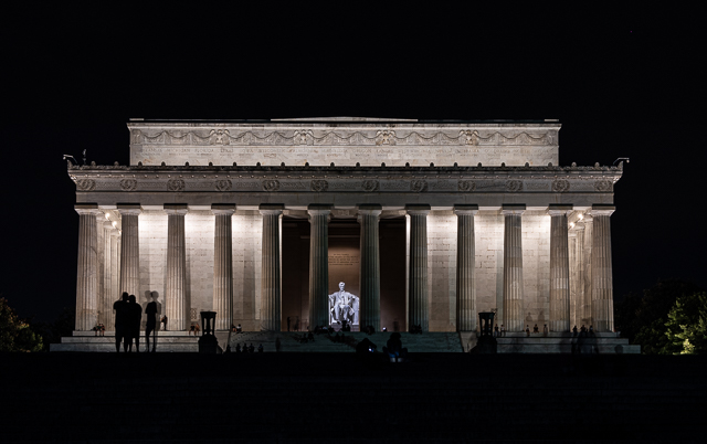 Night Photography on the Mall-Lori Saunders