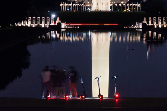 Night Photography on the Mall-Suzanne McIntire