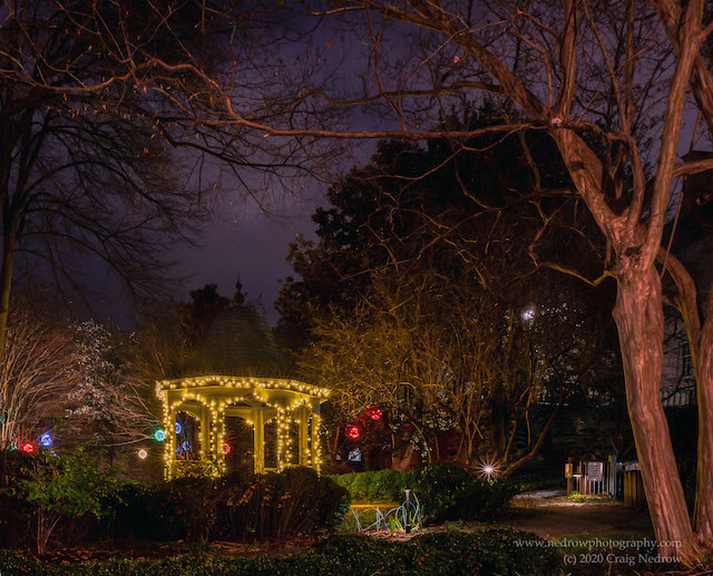 Holiday Lights in Old Town Alexandria-Craig Nedrow