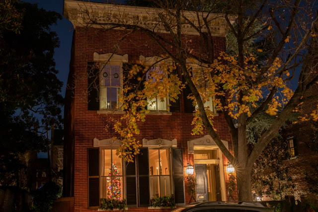 Holiday Lights in Old Town Alexandria-David Ponder