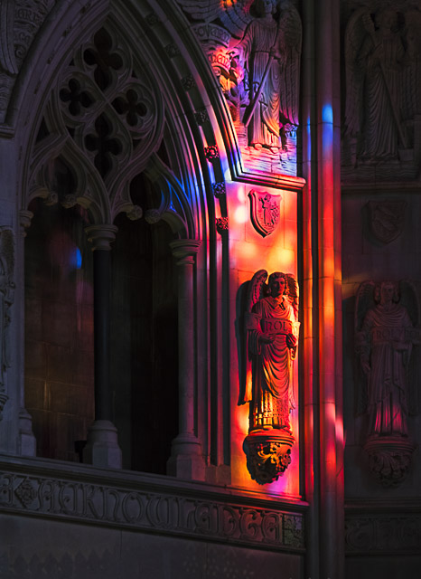 Early Morning Light at Washington National Cathedral-Dennis Kowalewski