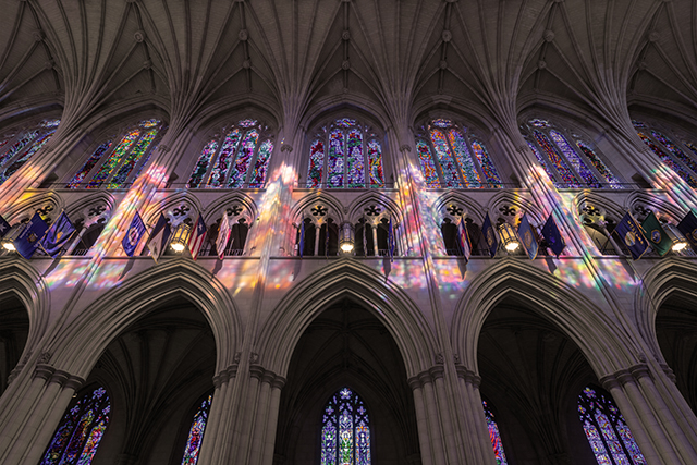 Early Morning Light at Washington National Cathedral-Jim Sinsheimer