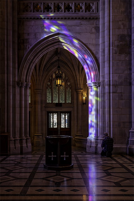 Early Morning Light at Washington National Cathedral-Rodolfo Ghirlando