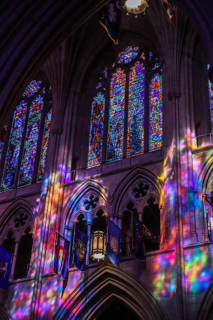 Early Morning Light at Washington National Cathedral-Troy Meyer