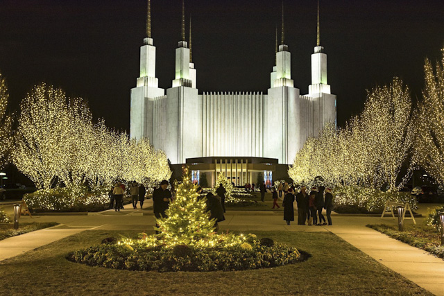 Mormon Temple-David Dickens