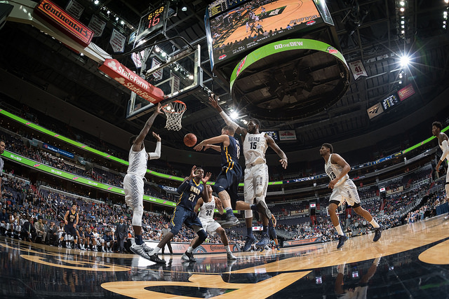 Sports Photography- Hoya's Basketball-Kevin Wolf