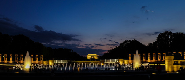 Late Afternoon on the Mall-Rachel Paletta